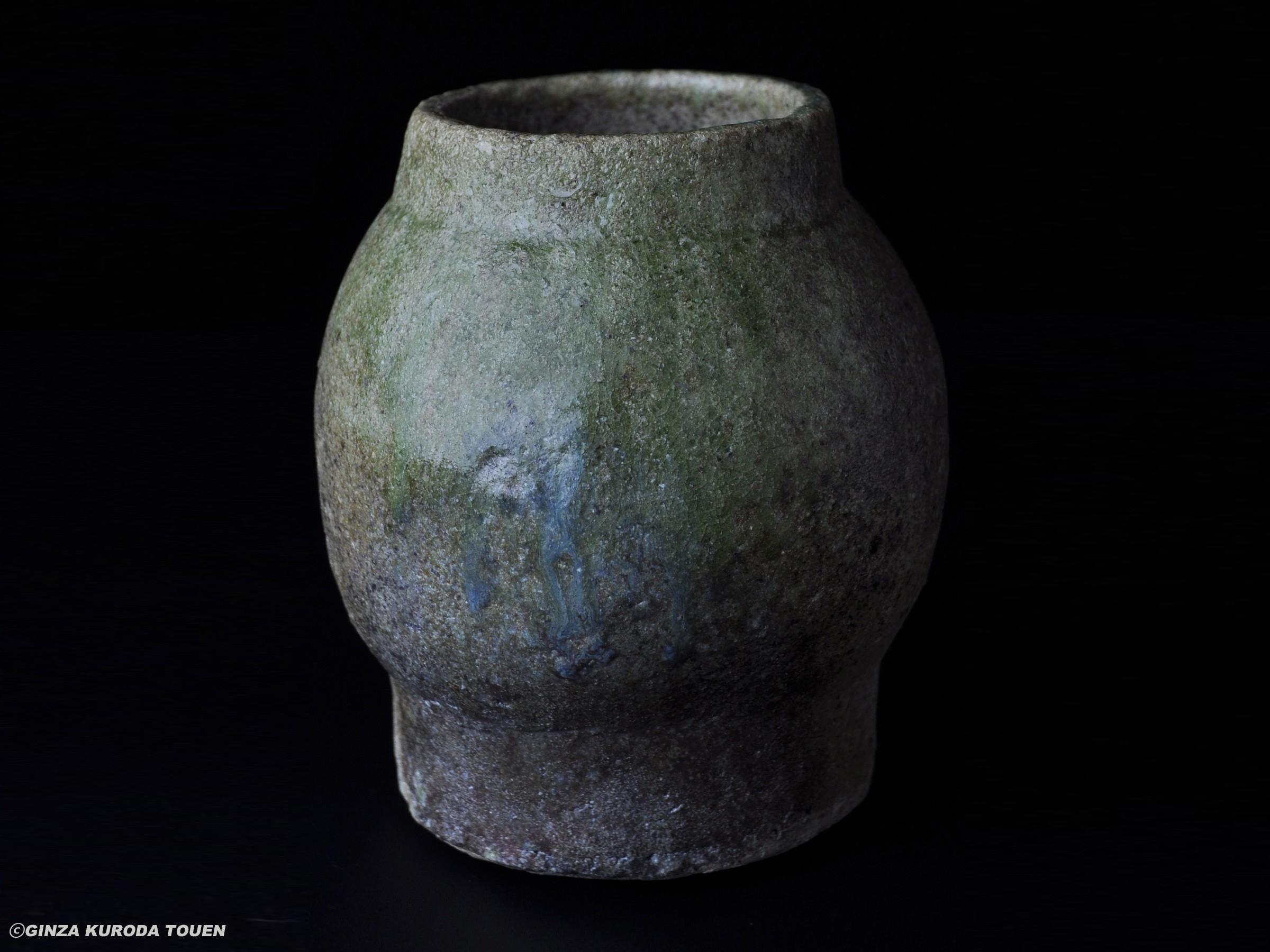 Shoji Kamoda: Vase, Ash glaze type