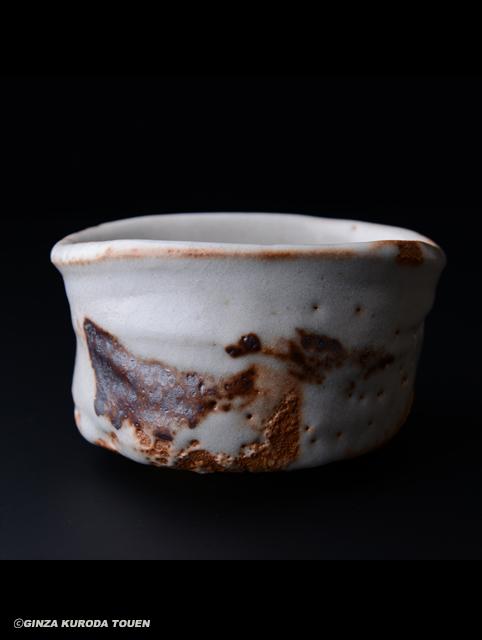 加藤唐九郎 志野茶碗 [銘・如意] | 銀座 黒田陶苑
