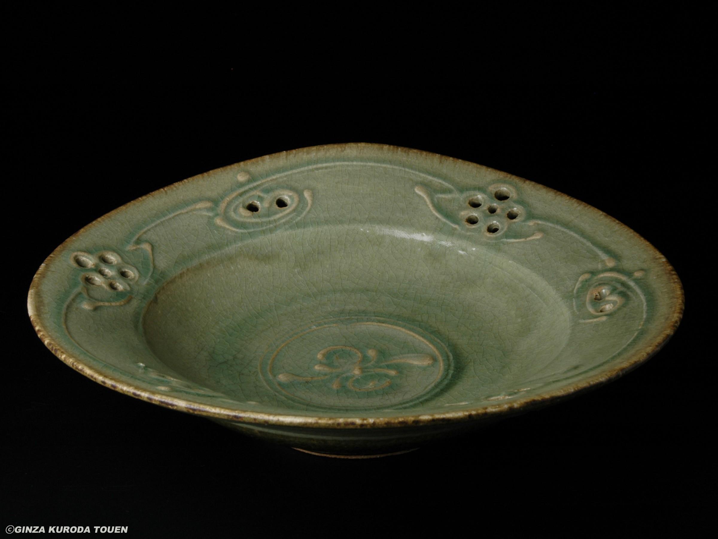 河井寛次郎 青瓷鉢