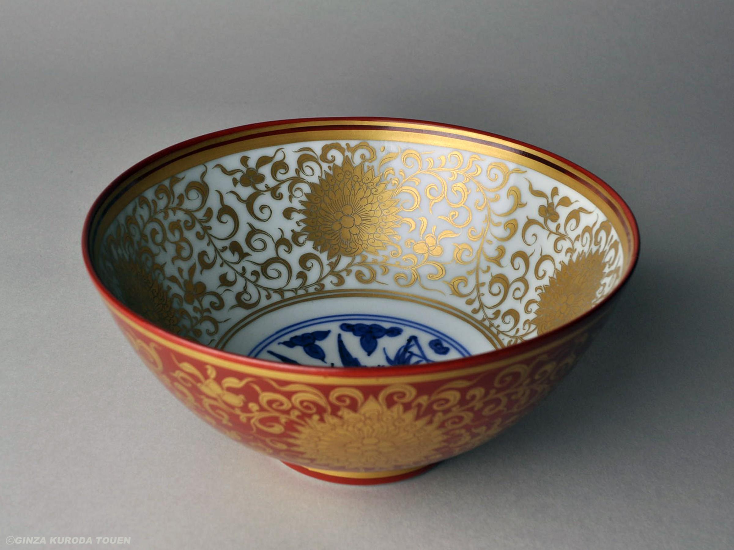 Chikushun Kawase I: Bowl, Kinrande type