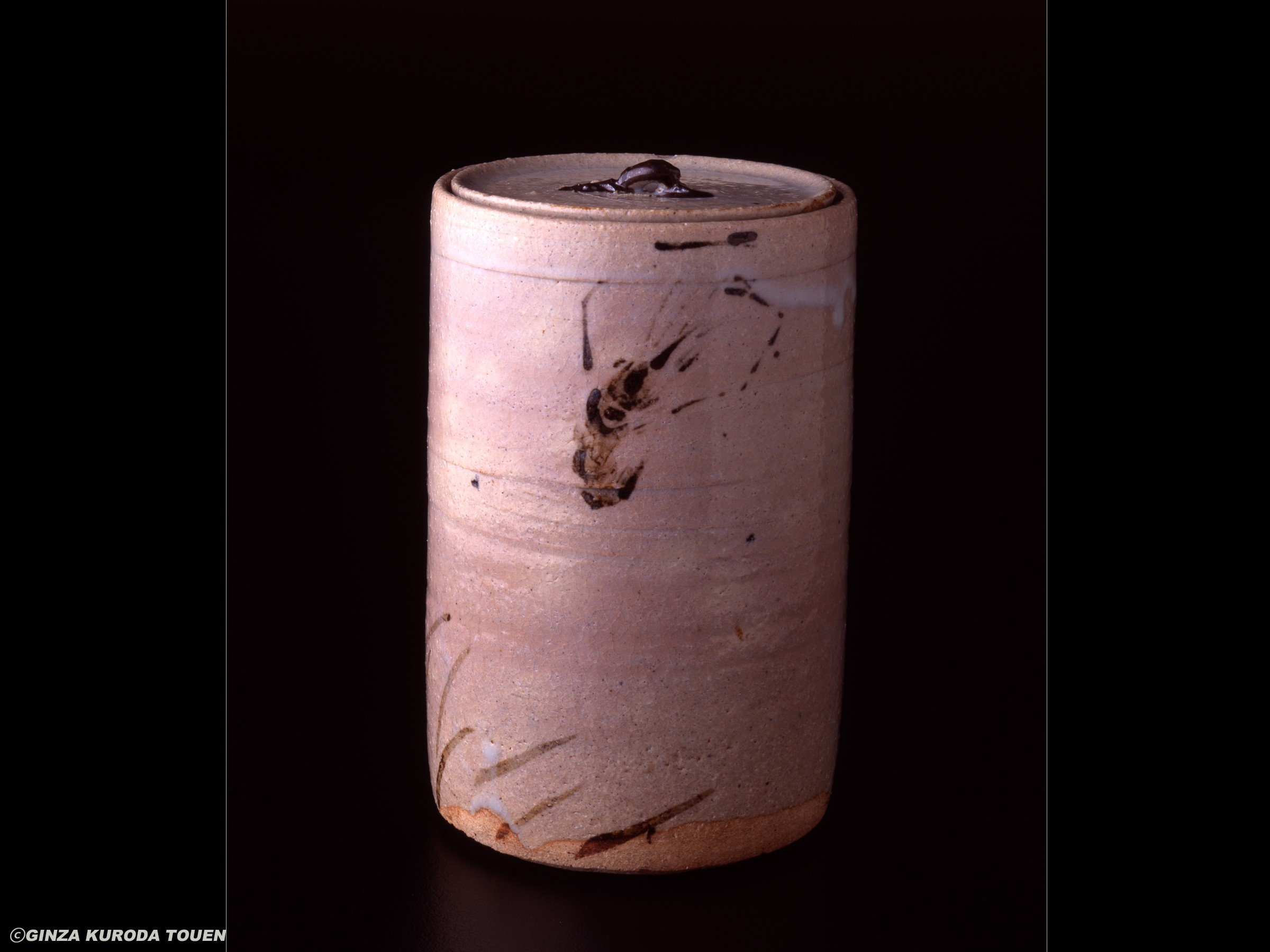 Rosanjin Kitaoji: Water jag (Mizusashi)