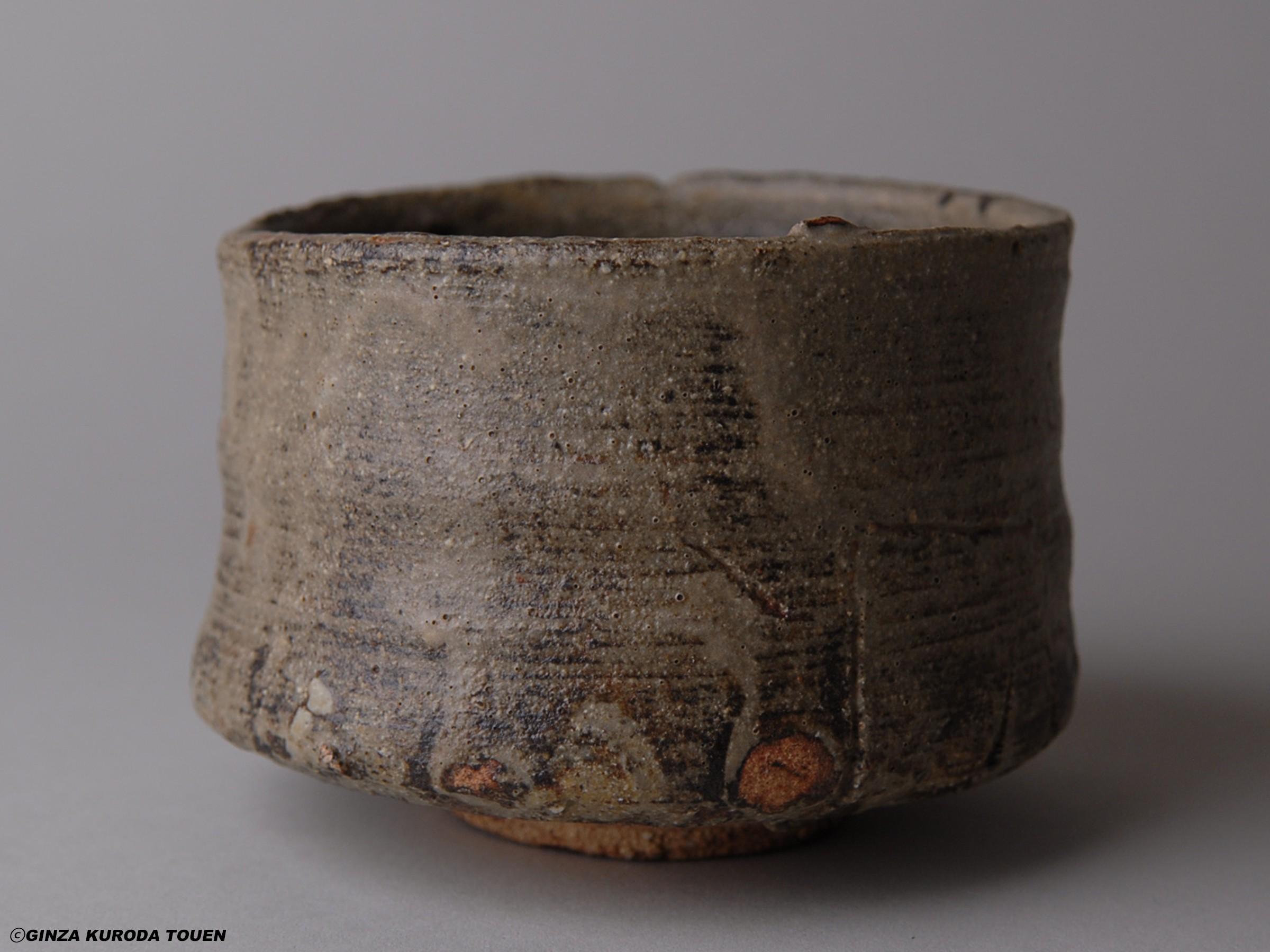 鯉江良二 灰釉茶碗