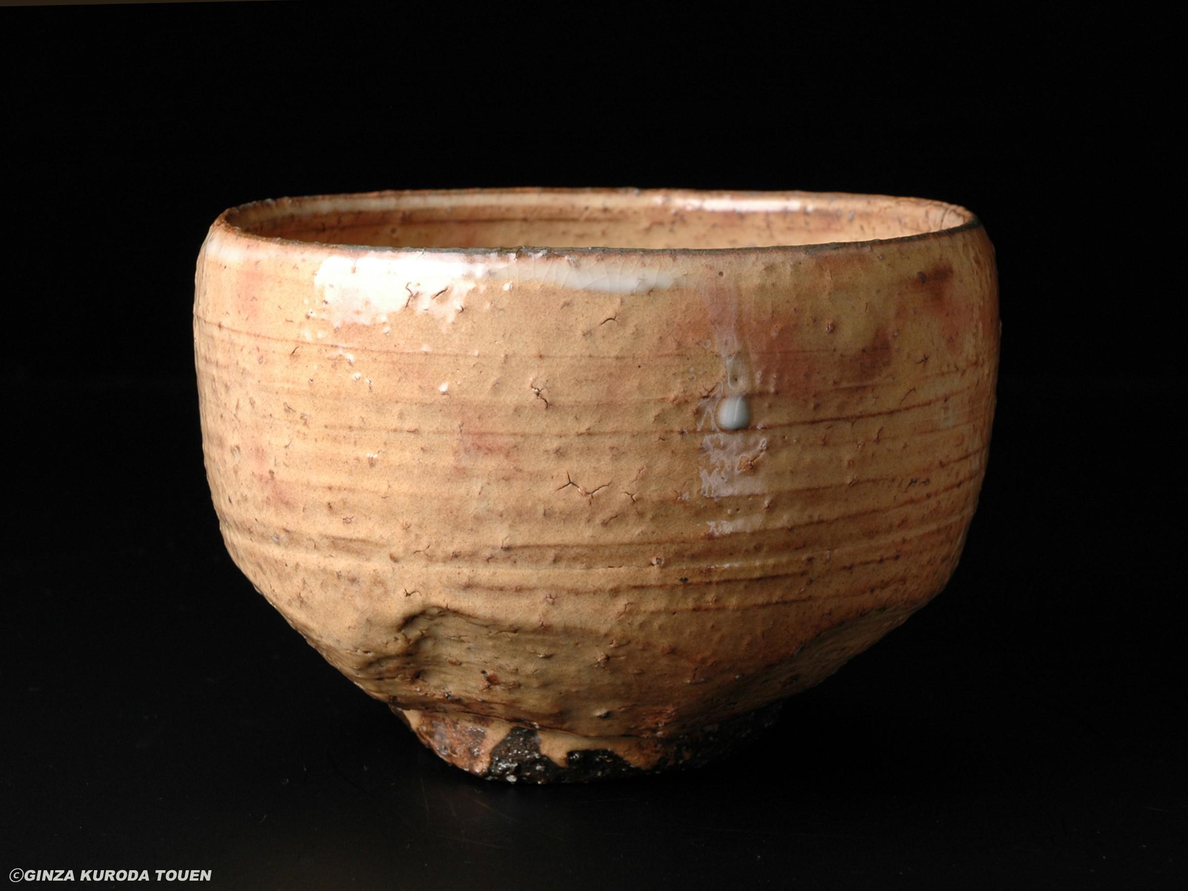 荒川豊藏 萩茶碗