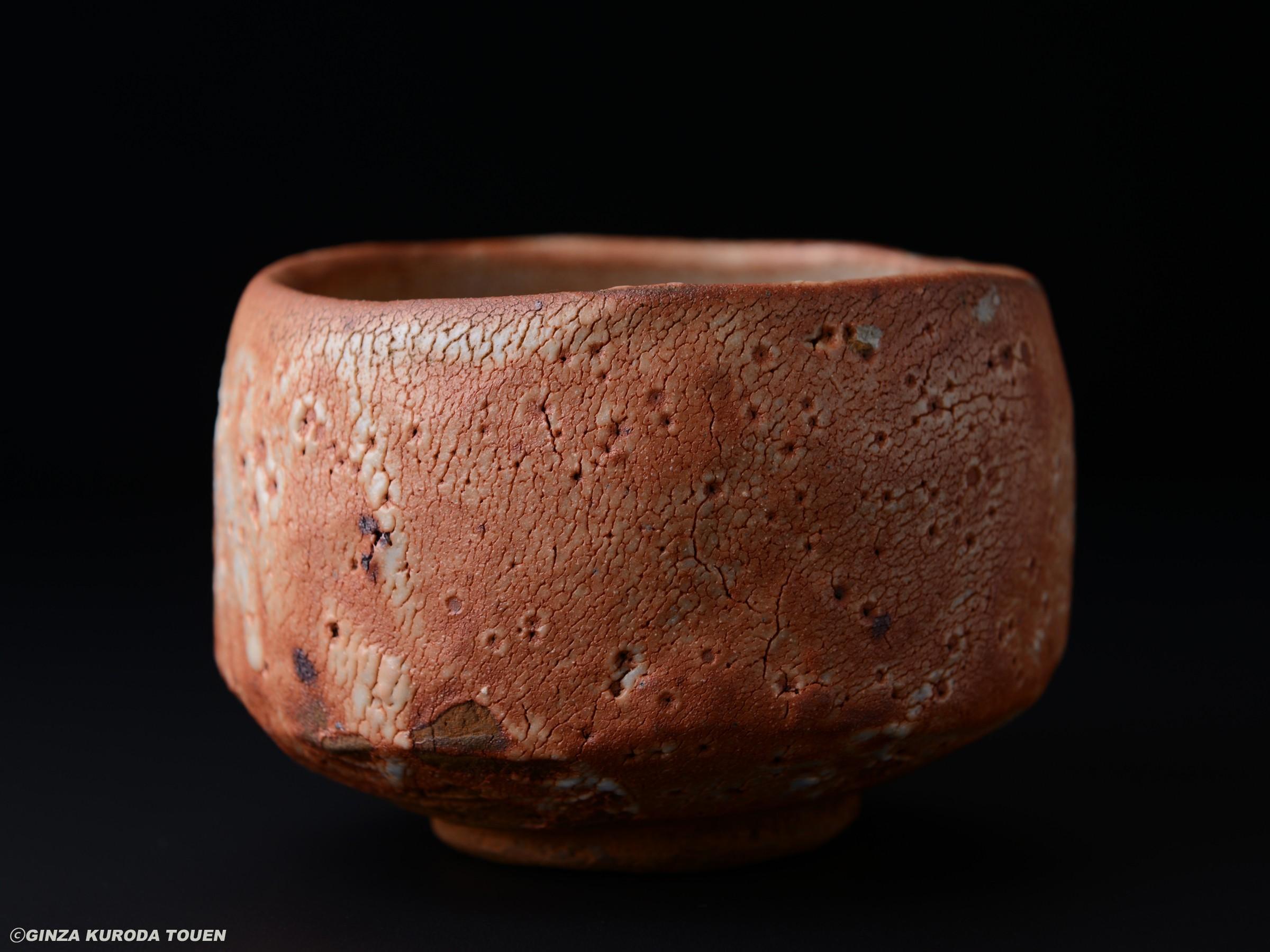 Toyozo Arakawa: Tea bowl, Shino type
