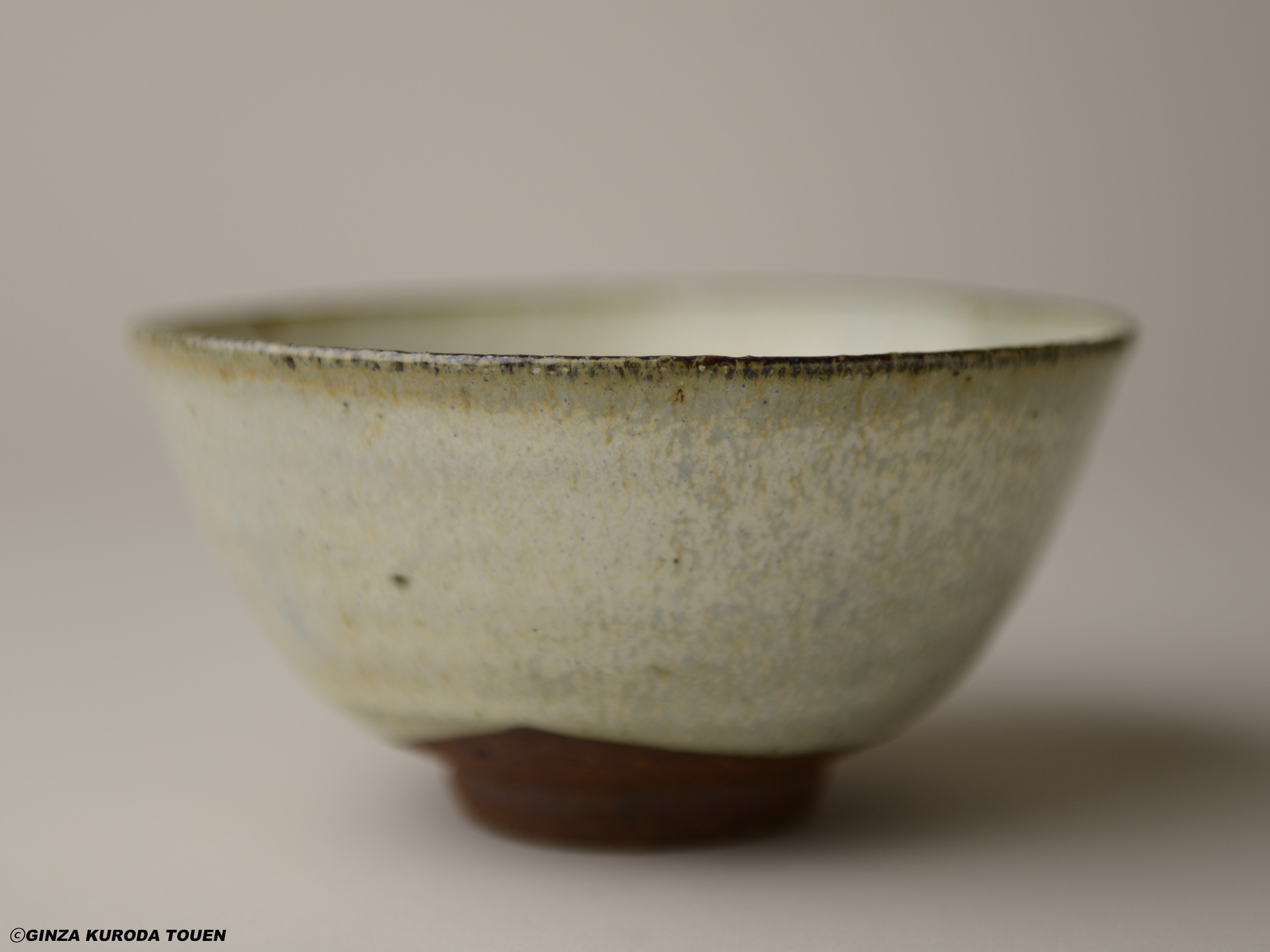 Munemaro Ishiguro: Tea bowl, Opaque glaze
