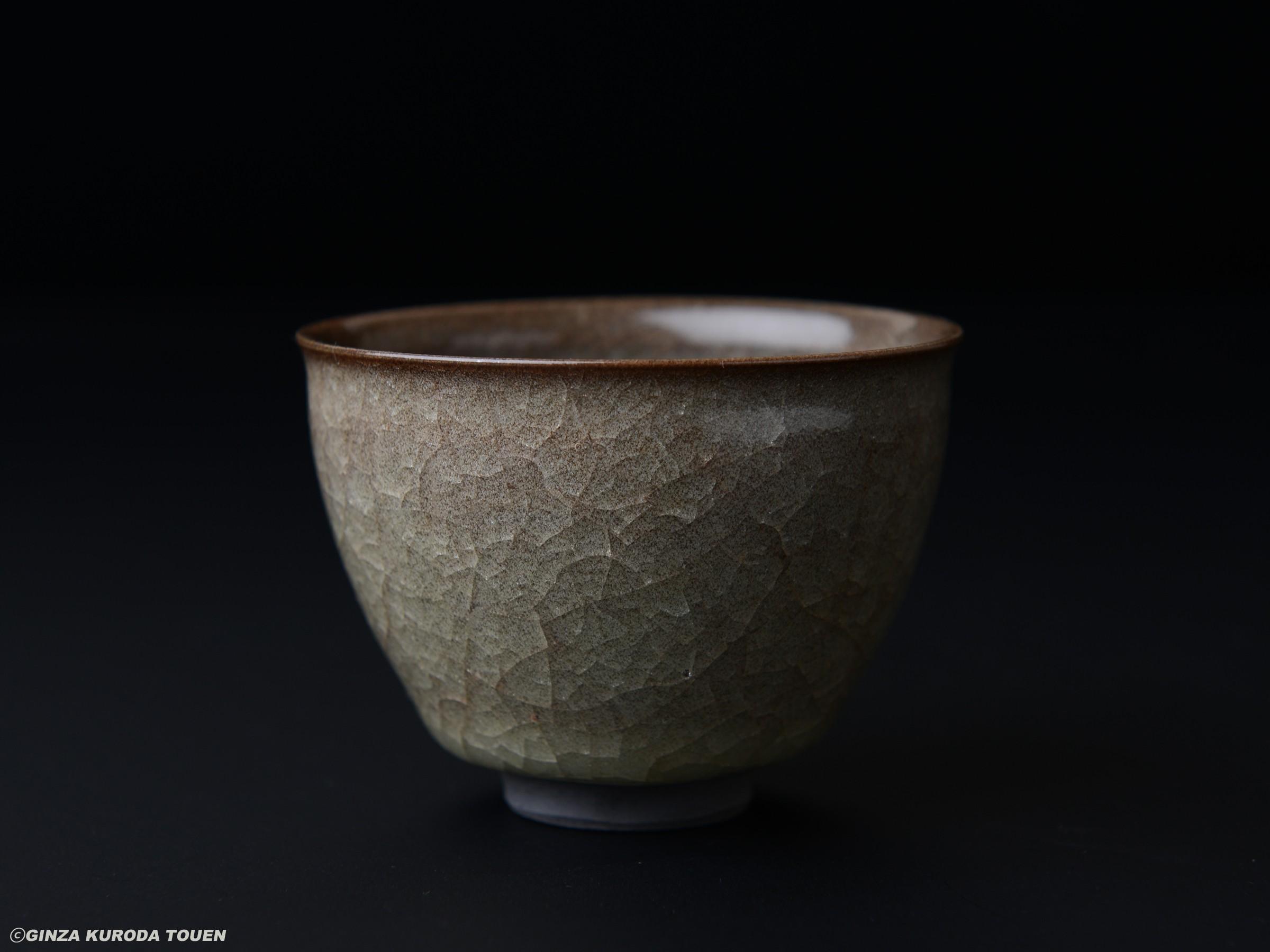 Mineo Okabe  Sake cup, Yohen Beishokuji type
