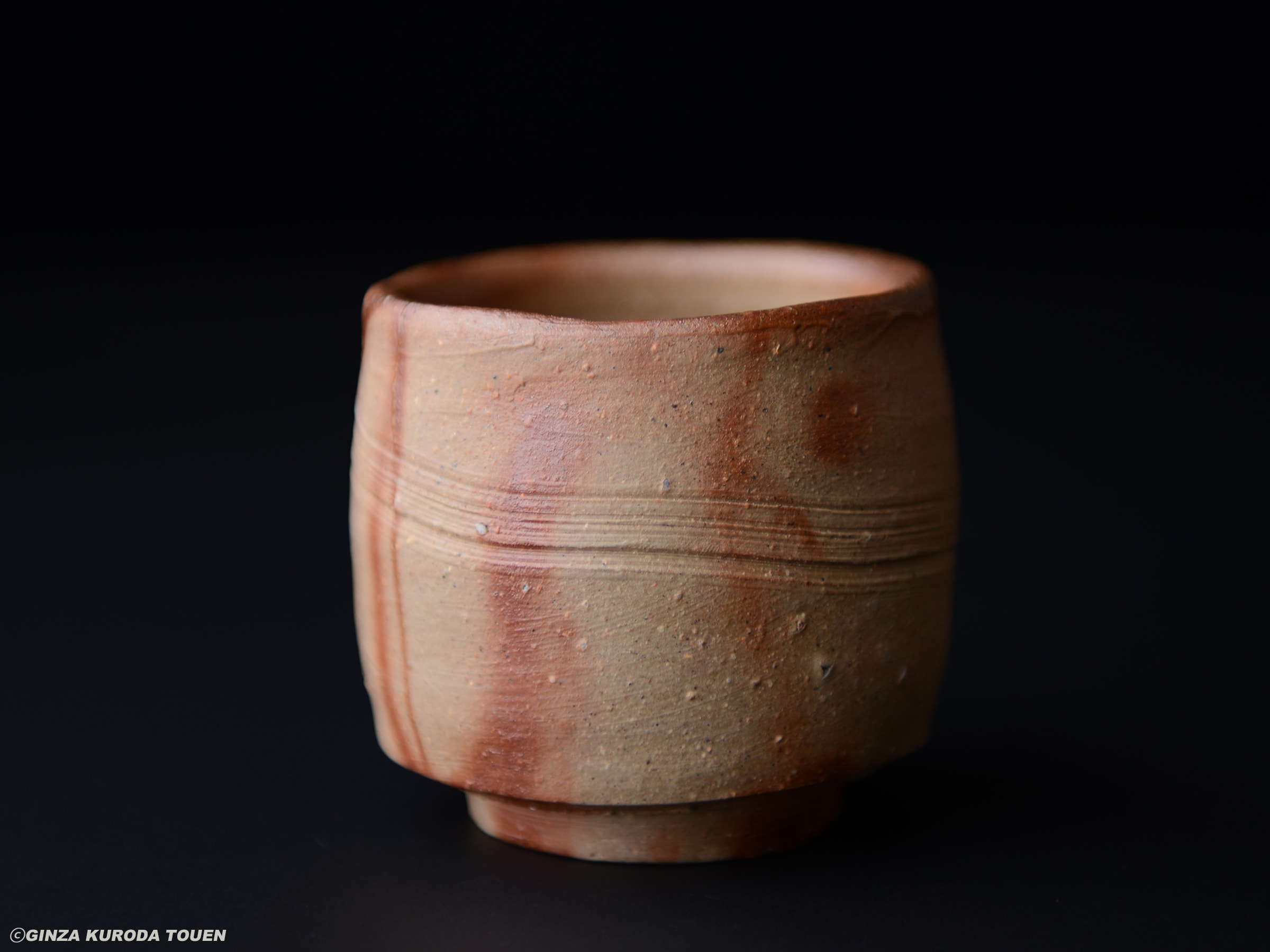 Toyo Kaneshige : Sake cup, Bizen type