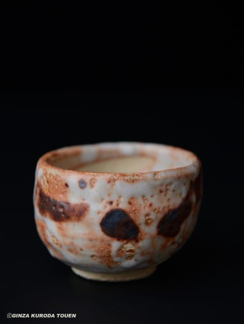 加藤唐九郎 志野ぐい呑み | 銀座 黒田陶苑