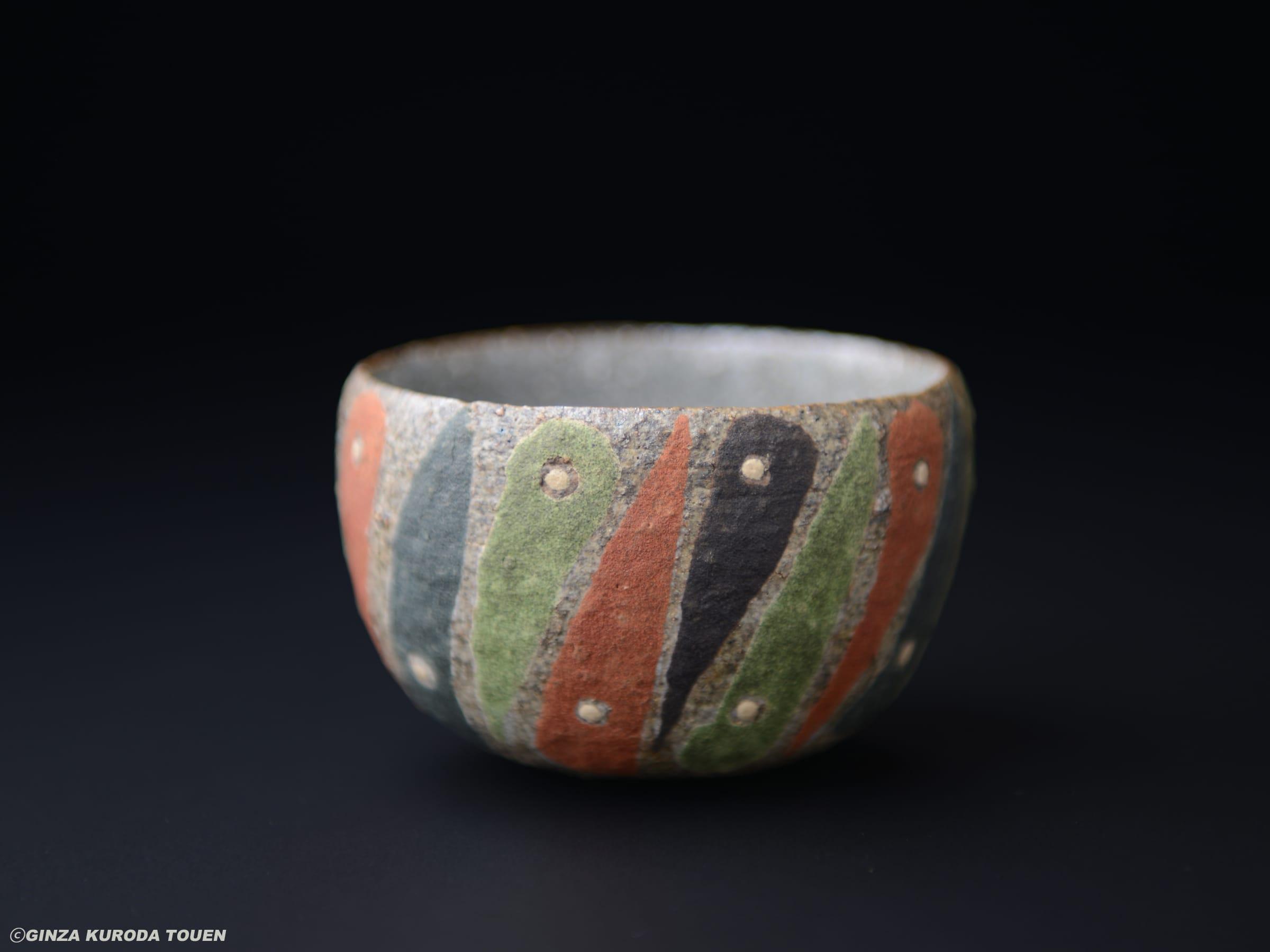 Shoji Kamoda: Painted sake cup