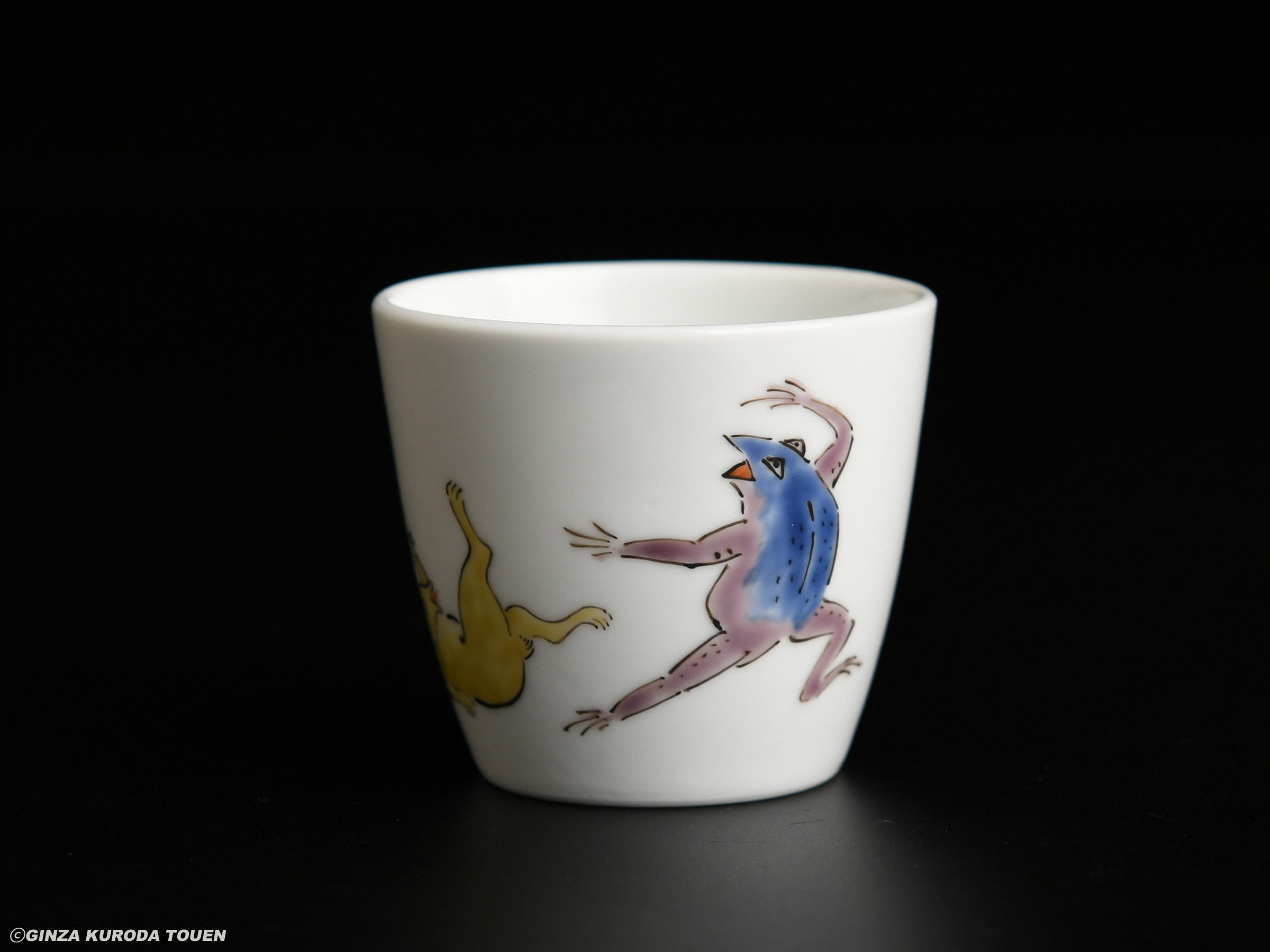 Kakiemon Sakaida xiii: Sake cup, Nigoshide type